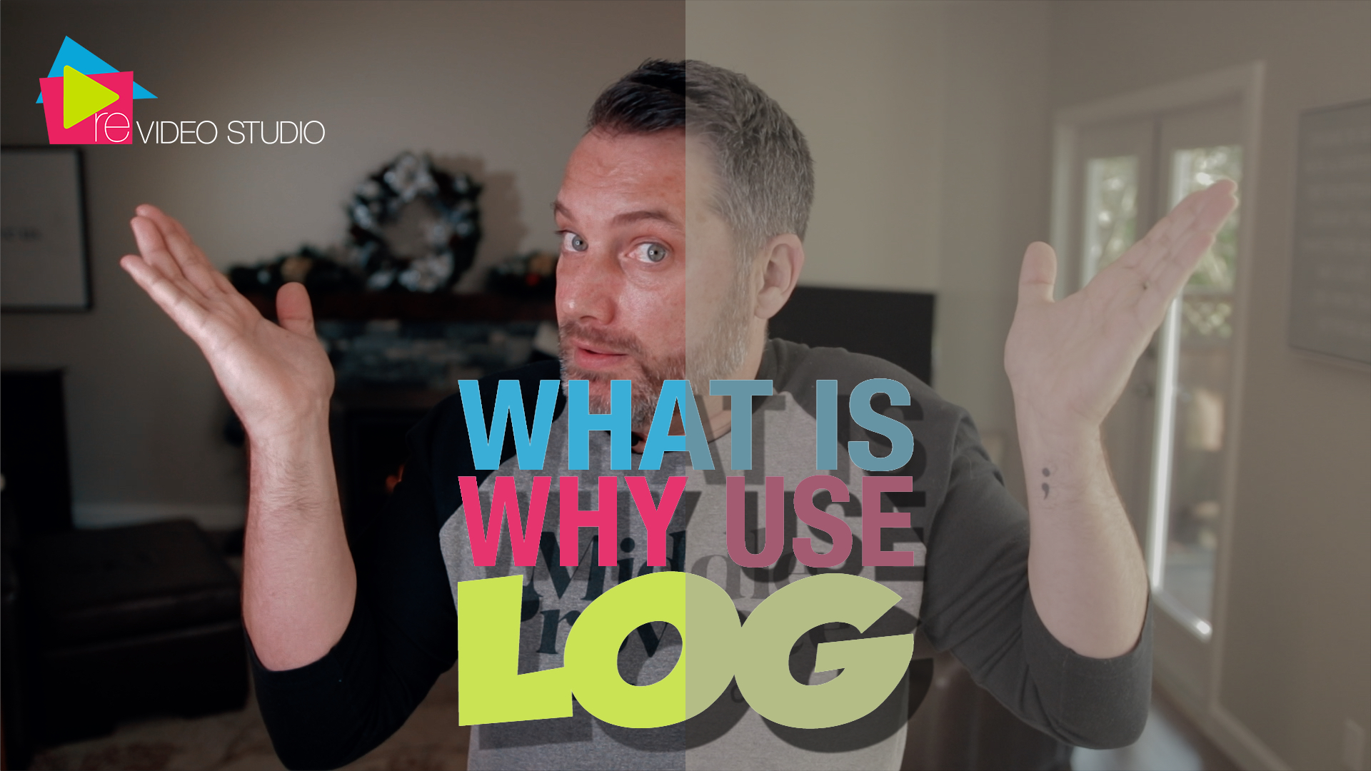 What is / Why use Log Footage - Real Estate Video Studio